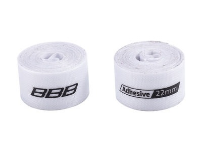 BBB Rimtape HP Adhesive 2m White 2pcs 22mm