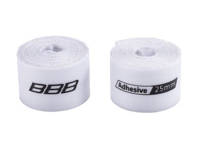 BBB Rimtape HP Adhesive 2m White 2pcs 25mm
