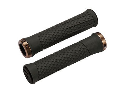 BBB Phyton Grips Moss Green, Copper Lockring