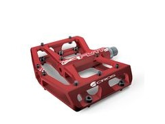 Acros A-Flat XL Pedal  Red  click to zoom image