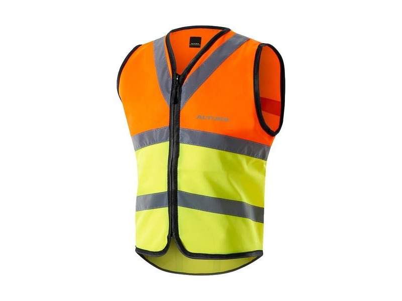 Altura Nightvision Safety Vest 2016: Hi Viz Yellow click to zoom image
