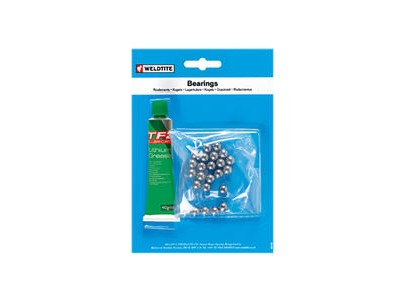 Weldtite 1/4 Ball Bearings & Grease (24 Balls) 1/4""