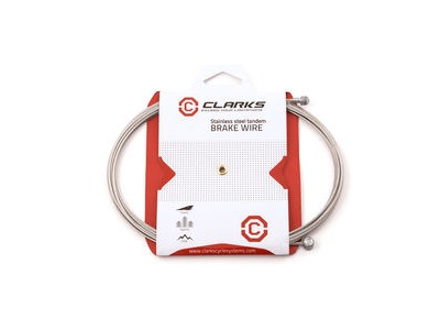 Clarks Universal S/S Inner Brake Wire L2000mm Fits All Major Systems