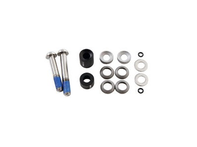 Avid Post Spacer Set Xx - 20 S - Front 180/Rear 160 - Cps (Inc. Ti Caliper Mounting Bolts):