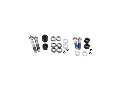 Avid Post Spacer Set Xx - 10 S - Front 170 - Standard (Inc. Ti Caliper Mounting Bolts):