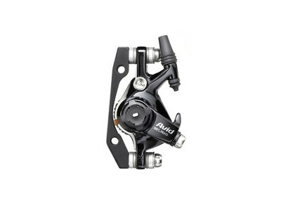 Avid BB7 - Road - S - Black Ano - 160mm Hs1 Rotor (Front Or Rear-includes Is Brackets Stainless Cps & Rotor Bolts): Black 160mm