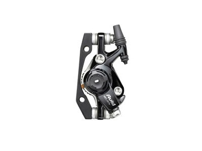 Avid BB7 - MTB - S - Black Ano - 160mm Hs1 Rotor (Front Or Rear-includes Is Brackets Stainless Cps & Rotor Bolts): Black 160mm