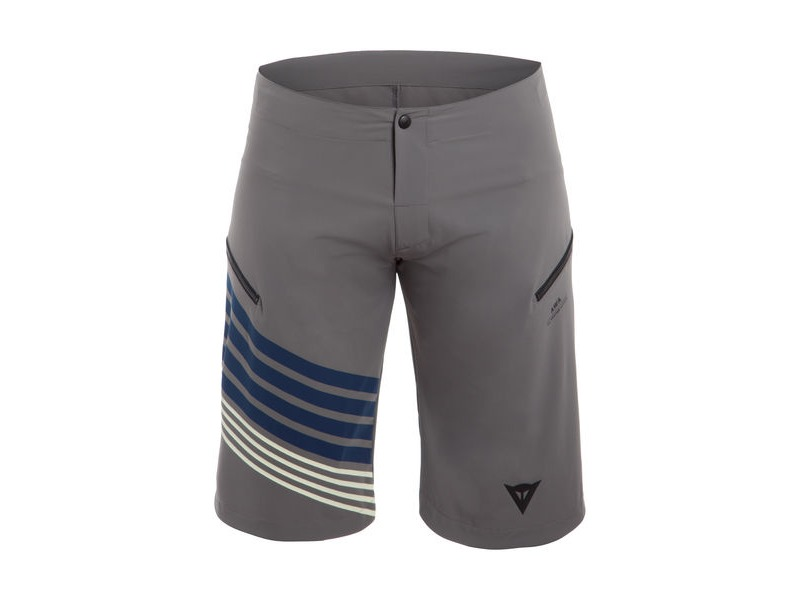 Dainese AWA Shorts Grey, Blue, Yellow click to zoom image