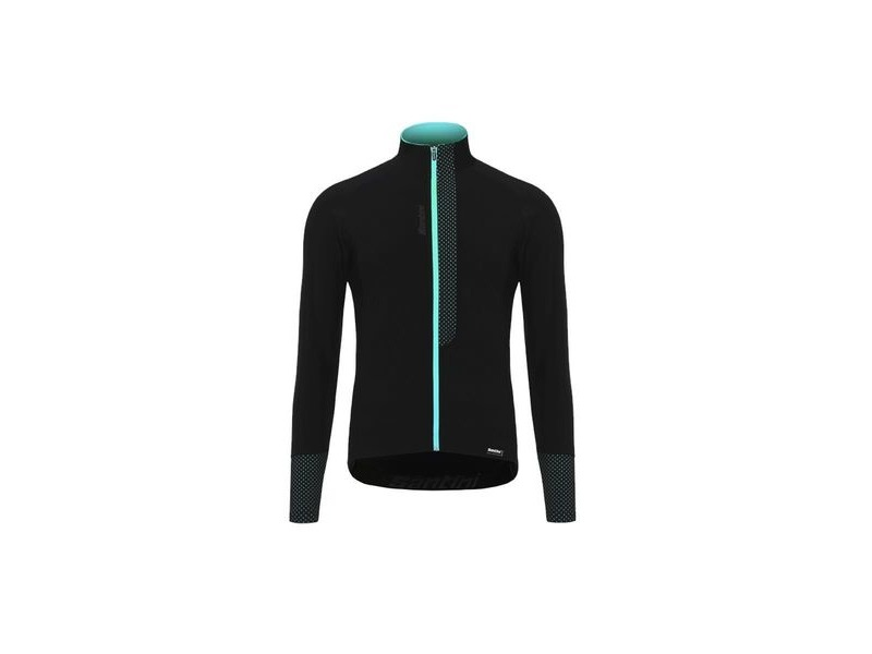 Santini Fashion Vega Long Sleeve Jersey Light Blue click to zoom image