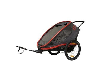 Hamax Outback Reclining Trailer Red/Charcoal