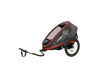 Hamax Outback One Reclining Trailer Red/Charcoal